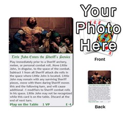 Robin Hood Cards (outlaw And King Decks) By Mark Johnson   Multi Purpose Cards (rectangle)   35mxy14yyzc4   Www Artscow Com Front 4