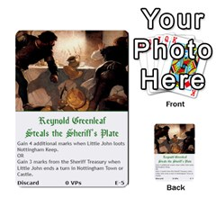 Robin Hood Cards (outlaw And King Decks) By Mark Johnson   Multi Purpose Cards (rectangle)   35mxy14yyzc4   Www Artscow Com Front 5