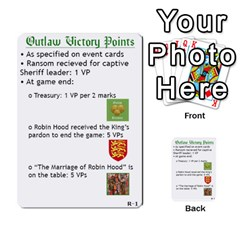 Robin Hood Cards (outlaw And King Decks) By Mark Johnson   Multi Purpose Cards (rectangle)   35mxy14yyzc4   Www Artscow Com Front 41