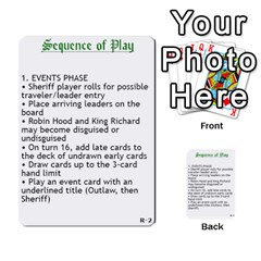 Robin Hood Cards (outlaw And King Decks) By Mark Johnson   Multi Purpose Cards (rectangle)   35mxy14yyzc4   Www Artscow Com Front 42