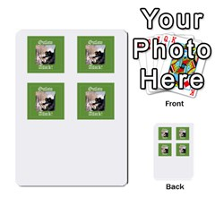 Robin Hood Cards (outlaw And King Decks) By Mark Johnson   Multi Purpose Cards (rectangle)   35mxy14yyzc4   Www Artscow Com Front 45