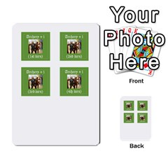 Robin Hood Cards (outlaw And King Decks) By Mark Johnson   Multi Purpose Cards (rectangle)   35mxy14yyzc4   Www Artscow Com Front 49
