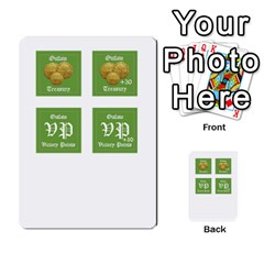 Robin Hood Cards (outlaw And King Decks) By Mark Johnson   Multi Purpose Cards (rectangle)   35mxy14yyzc4   Www Artscow Com Front 50