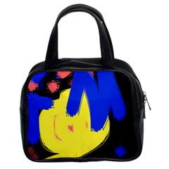 Funky Explosion Classic Handbag (two Sides) by TwistOfFlavors