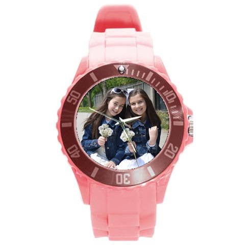 Mushky Watch Updated By Tamar   Round Plastic Sport Watch (l)   3dxwwyc5sd5o   Www Artscow Com Front