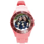 mushky watch UPDATED - Round Plastic Sport Watch (L)