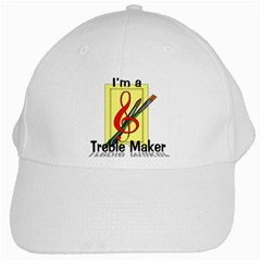 treble maker cap White Cap by mmross