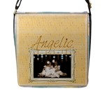 Angelic  Messenger Bag - Flap Closure Messenger Bag (L)