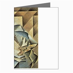 Juan Gris - Portrait of Picasso Greeting Card by DesignMonaco