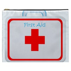 First Aid Cosmetic Bag Xxxl By Eleanor Norsworthy   Cosmetic Bag (xxxl)   Hnmxggbxe1nr   Www Artscow Com Front
