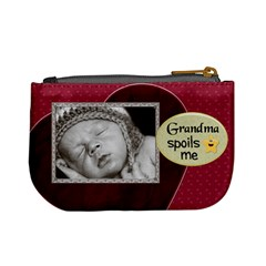 Proud Grandma Mini Coin Purse By Lil    Mini Coin Purse   Caikjqktjsjs   Www Artscow Com Back
