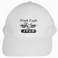 Black Eagle White Cap by 303792