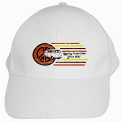 Hippies Peace Club White Cap by 303792