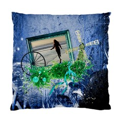 Midnight Wish   Cushion Case (2sides)  By Picklestar Scraps   Standard Cushion Case (two Sides)   Reaesojb55ev   Www Artscow Com Front
