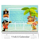 2014 Pirate Pete Calendar - Wall Calendar 11 x 8.5 (12-Months)