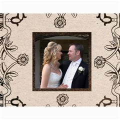 2015 Twin Hearts Wedding Celebration Calendar  By Catvinnat   Wall Calendar 11  X 8 5  (12 Months)   6nd8f1p9heh0   Www Artscow Com Month