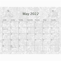 2015 Weathered Floral Calendar By Catvinnat   Wall Calendar 11  X 8 5  (12 Months)   1v3cn31fswo7   Www Artscow Com May 2015