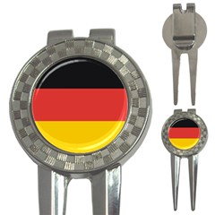 German Flag 3-in-1 Golf Divot by DesignMonaco