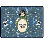 Winter Fun extra large blanket - Fleece Blanket (Large)