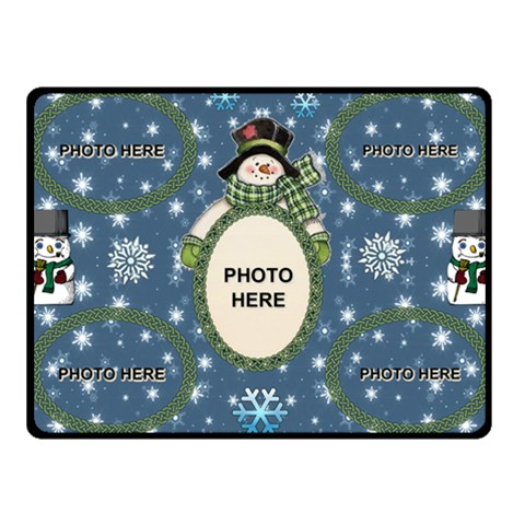 Snow Days Small Blanket By Joy Johns   Fleece Blanket (small)   14amcmozlg2z   Www Artscow Com 50 x40  Blanket Front