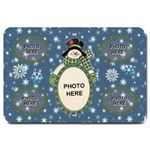 Snow Days large door mat - Large Doormat