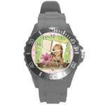 kids - Round Plastic Sport Watch (L)