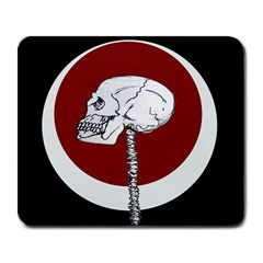 Skeletal Warning Large Mouse Pad (rectangle)
