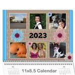 My Picture Calendar (any year) - Wall Calendar 11  x 8.5  (12-Months)
