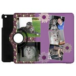 Purple Apple iPad Mini Flip 360 Case