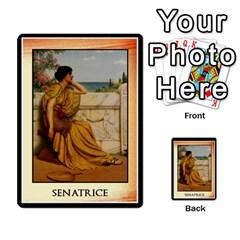 Cursus Senateurs By Meta   Multi Purpose Cards (rectangle)   Wy9w95396uxu   Www Artscow Com Back 23