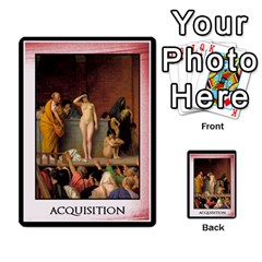 Cursus Acquisitions By Meta   Multi Purpose Cards (rectangle)   Ydjxv5oxcac3   Www Artscow Com Back 51