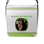 Princess Flap closure Messenger Bag2 (Large) - Flap Closure Messenger Bag (L)