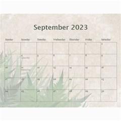 2019 Green 12 Month Wall Calendar By Lil    Wall Calendar 11  X 8 5  (12 Months)   Bgrkllvvv4j0   Www Artscow Com Sep 2019