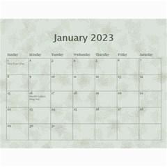 2015 Green 12 Month Wall Calendar By Lil    Wall Calendar 11  X 8 5  (12 Months)   Bgrkllvvv4j0   Www Artscow Com Jan 2015