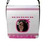Princess Flap closure Messenger Bag (Large) - Flap Closure Messenger Bag (L)