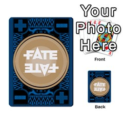 Deck Of Fate   Part 2 By Oliver Graf   Multi Purpose Cards (rectangle)   Lbgk7kgir6a1   Www Artscow Com Back 1