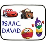 isaac blanket - Fleece Blanket (Mini)