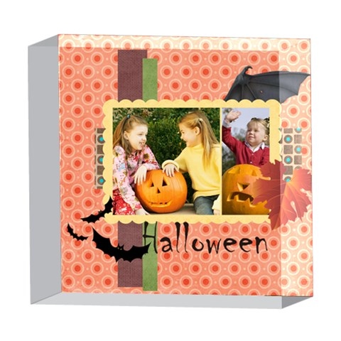 Helloween By Helloween   5  X 5  Acrylic Photo Block   4qjjcgx6yzoh   Www Artscow Com Front