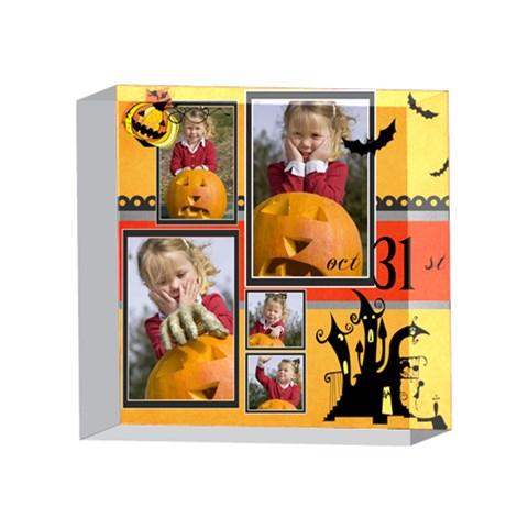 Helloween By Helloween   4 x 4  Acrylic Photo Block   Bx9h129xubqc   Www Artscow Com Front