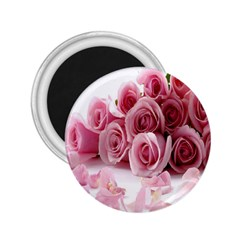 Pink Roses 2 25  Button Magnet by Contest1624092