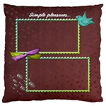 Treasure_Cushion - Large Cushion Case (Two Sides)