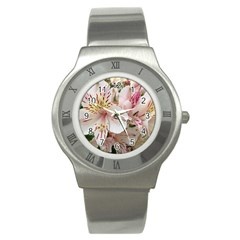 Flower Alstromeria Stainless Steel Watch (unisex) by ADIStyle