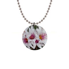 Bloom Cactus  Button Necklace by ADIStyle