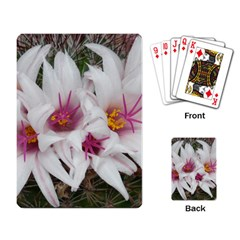 Bloom Cactus  Playing Cards Single Design by ADIStyle