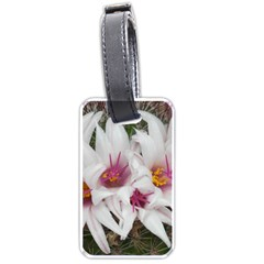 Bloom Cactus  Luggage Tag (two Sides) by ADIStyle
