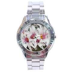 Bloom Cactus  Stainless Steel Watch (men s) by ADIStyle