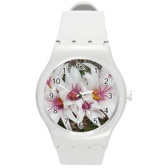 Bloom Cactus  Plastic Sport Watch (medium) by ADIStyle