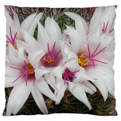 Bloom Cactus  Large Cushion Case (one Side) by ADIStyle