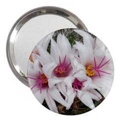 Bloom Cactus  3  Handbag Mirror by ADIStyle