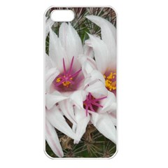 Bloom Cactus  Apple Iphone 5 Seamless Case (white) by ADIStyle